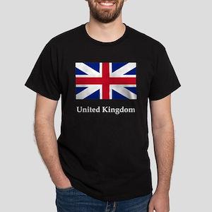 Flag And Name Dark T-Shirt
