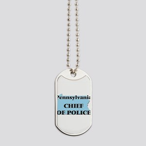Pennsylvania Chief Of Police Dog Tags
