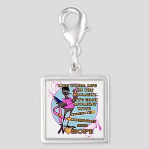 RANDY BREAST CANCER AWARENESS Charms