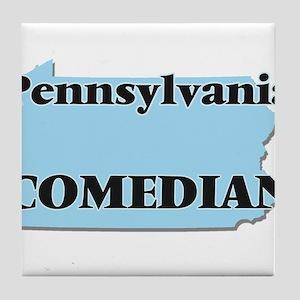 Pennsylvania Comedian Tile Coaster