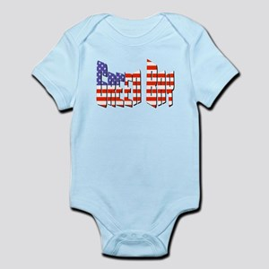 Patriotic Green Bay Body Suit