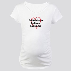 Loves me: Indiana Maternity T-Shirt