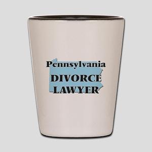 Pennsylvania Divorce Lawyer Shot Glass