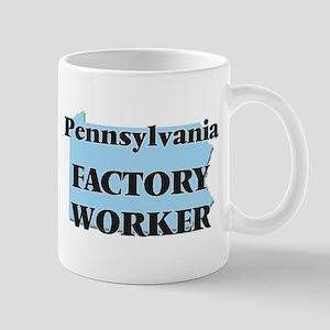Pennsylvania Factory Worker Mugs