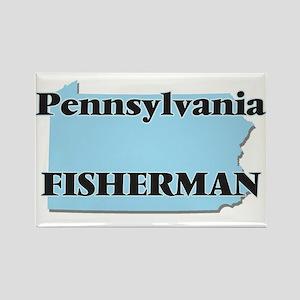 Pennsylvania Fisherman Magnets