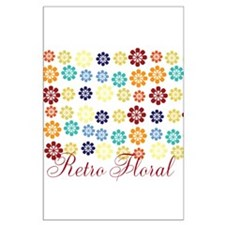 Cool Chic Floral Large Poster