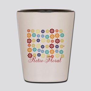 Cool Chic Floral Shot Glass
