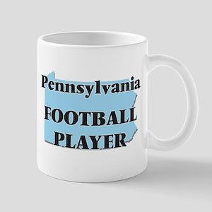 Pennsylvania Football Player Mugs