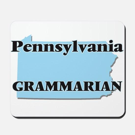Pennsylvania Grammarian Mousepad