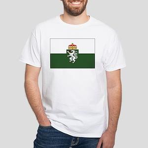 Styria Flag White T-Shirt
