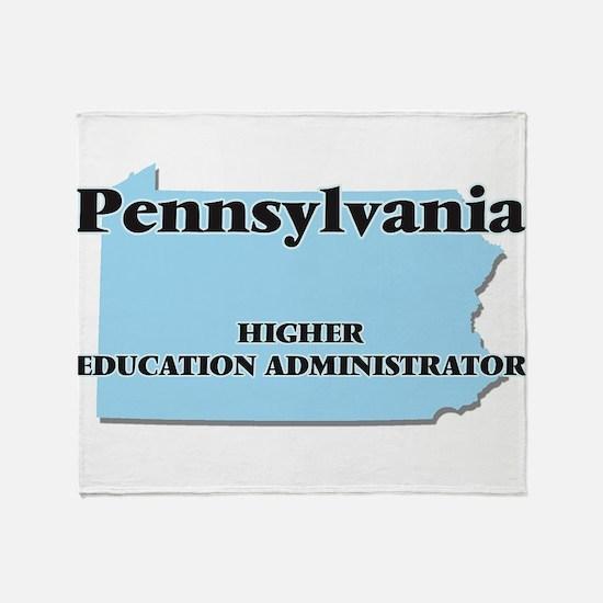 Pennsylvania Higher Education Admini Throw Blanket