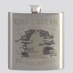 King of The Ocean Flask