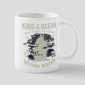 King of The Ocean 11 oz Ceramic Mug