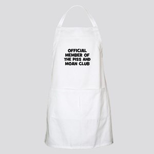 Official Member of the Piss a BBQ Apron