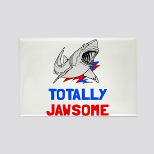 Totally Jawsome Rectangle Magnet