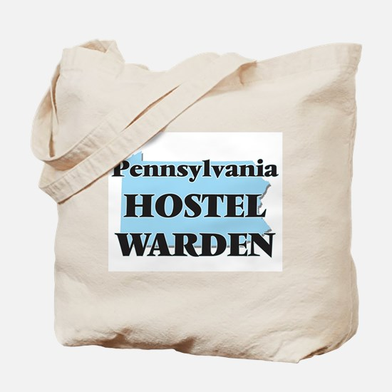 Pennsylvania Hostel Warden Tote Bag