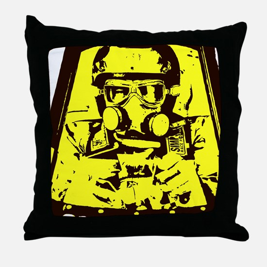 Nitro Pilot Throw Pillow
