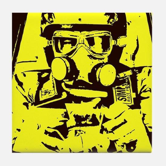 Nitro Pilot Tile Coaster