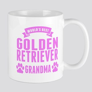 Worlds Best Golden Retriever Grandma Mugs