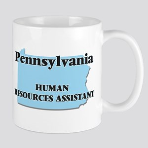 Pennsylvania Human Resources Assistant Mugs