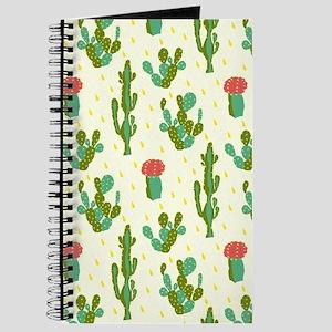 Cactus Pattern Journal