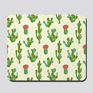 Cactus Pattern Mousepad