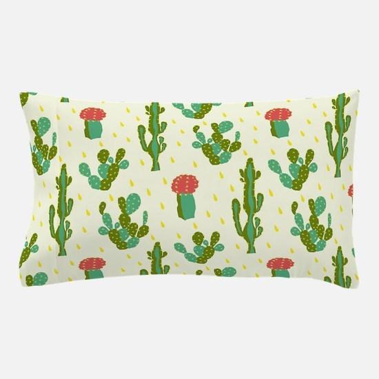 Cactus Pattern Pillow Case