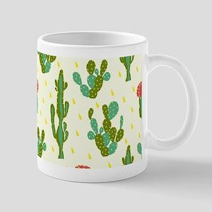 Cactus Pattern Mugs