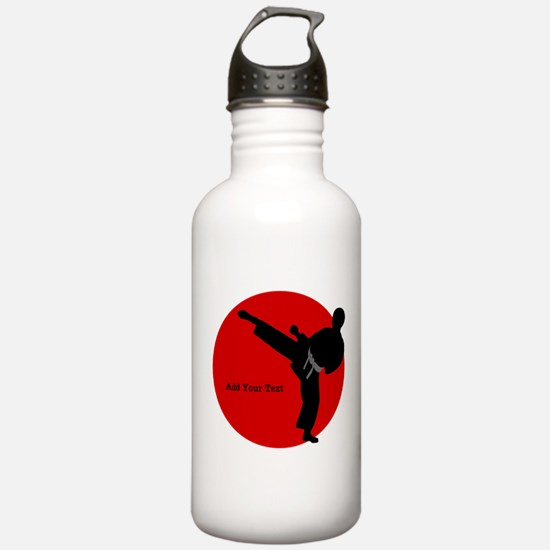 Karate Water Bottle