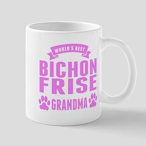 Worlds Best Bichon Frise Grandma Mugs