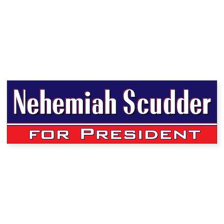 Nehemiah Scudder for President