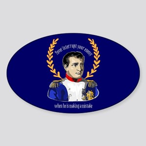 Napoleon Famous Quote Sticker