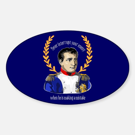 Napoleon Famous Quote Decal