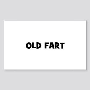 Old Fart Rectangle Sticker