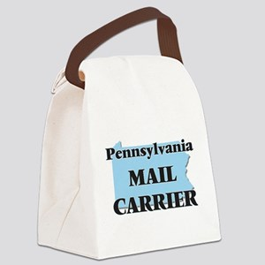 Pennsylvania Mail Carrier Canvas Lunch Bag