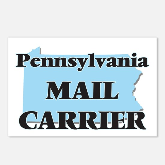 Pennsylvania Mail Carrier Postcards (Package of 8)