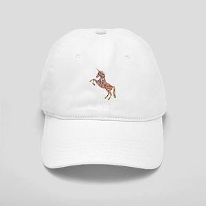 Prismatic Rainbow Unicorn Cap