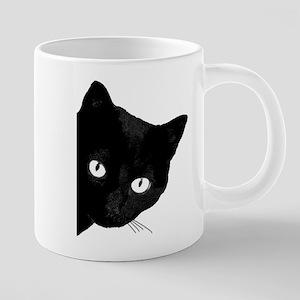 Black cat 20 oz Ceramic Mega Mug