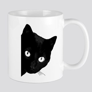 Black cat 11 oz Ceramic Mug