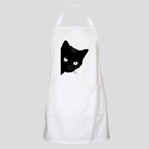 Black cat Light Apron