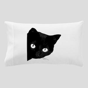 Black cat Pillow Case