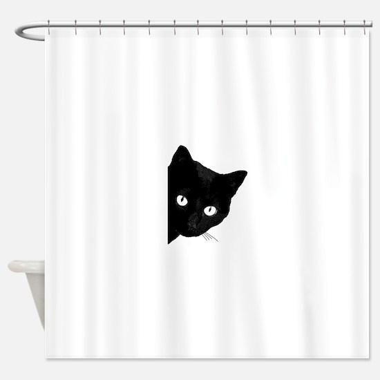 Cute Cats rule Shower Curtain