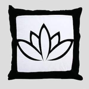 lotos Throw Pillow