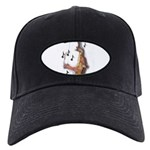 Abstract Saxophone player Baseball Cap