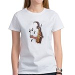 Abstract Saxophone player T-Shirt