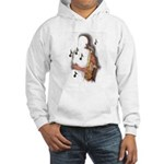 Abstract Saxophone player Jumper Hoody
