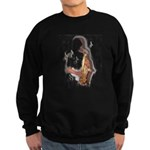 Abstract Saxophone player Jumper Sweater