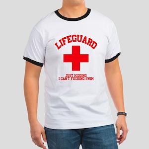 Lifeguard Just Kidding Ringer T