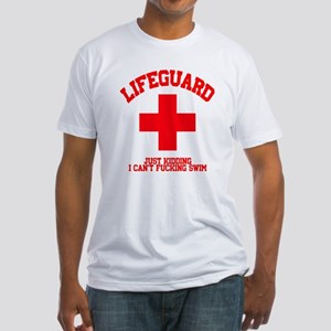 Lifeguard Just Kidding Fitted T-Shirt
