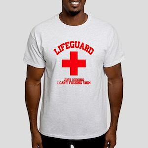 Lifeguard Just Kidding Light T-Shirt